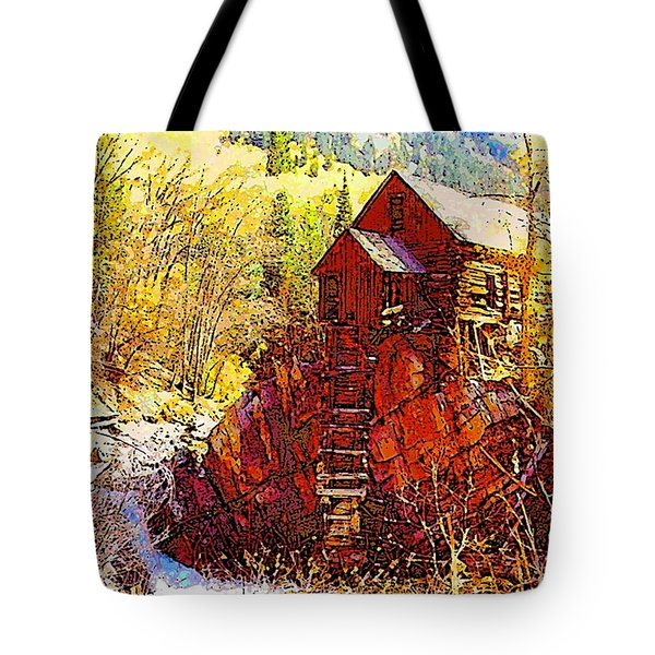 Deadhorse Mill Tote Bag