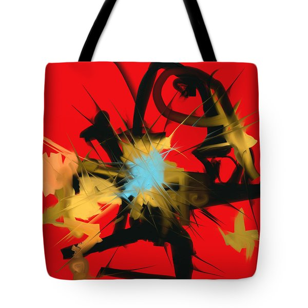 Deadly Fight Tote Bag