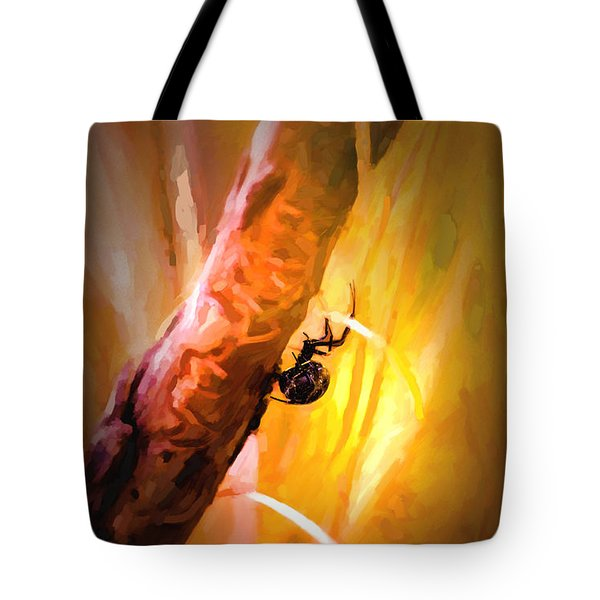Deadly Tote Bag by Jon Burch Photography