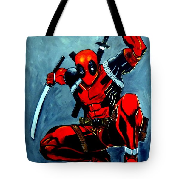 Deadpool Tote Bag