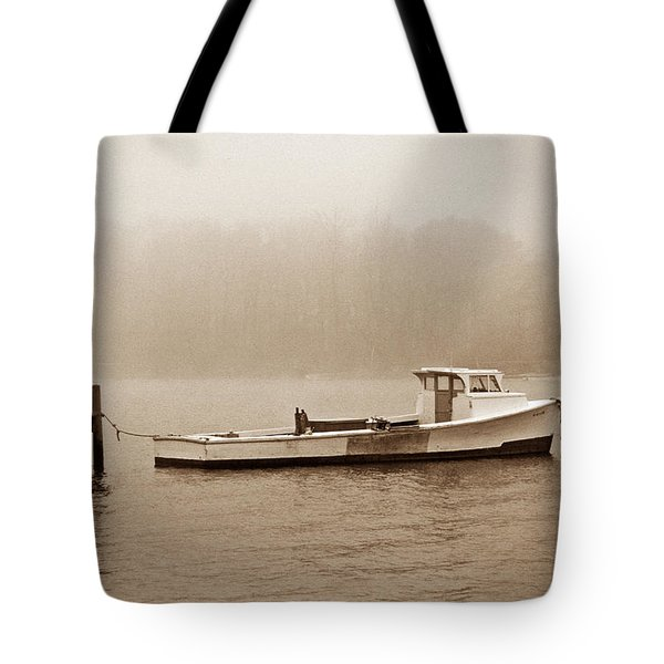 Deadrise Waiting Tote Bag