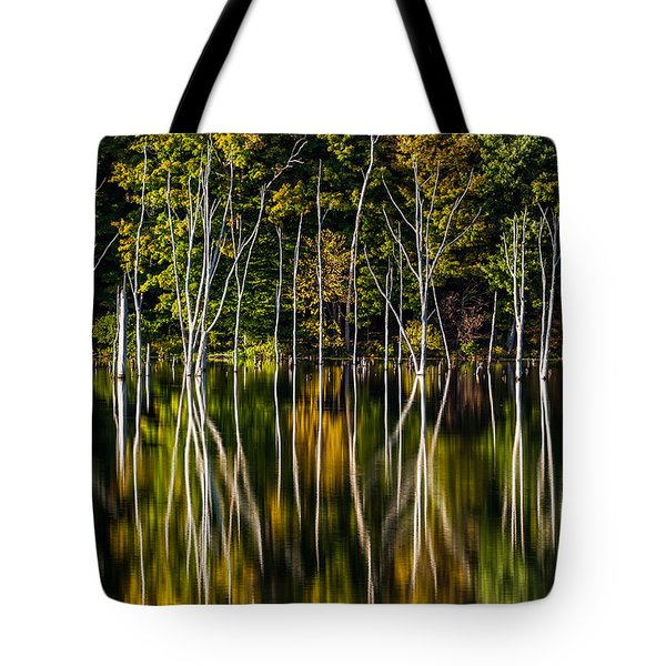 Tote Bag featuring the photograph Deadwood by Mihai Andritoiu