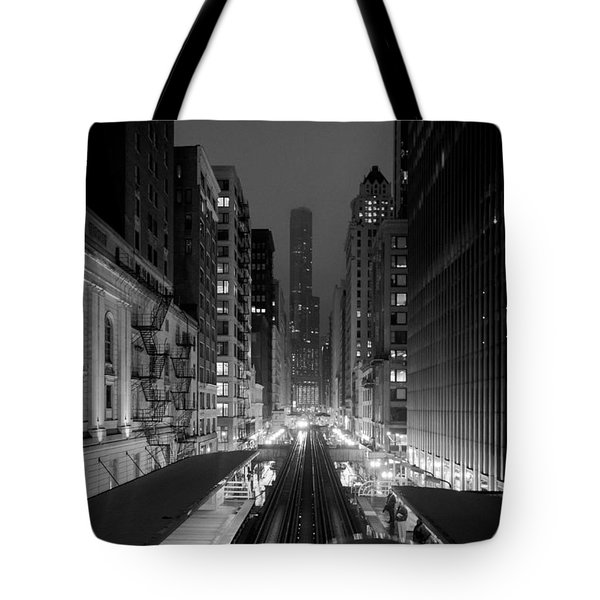 Tote Bag featuring the photograph Dear Chicago You're Beautiful by Peta Thames