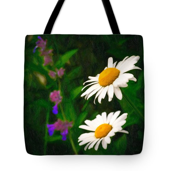 Tote Bag featuring the photograph Dear Daisy by Garvin Hunter