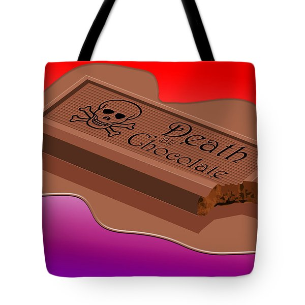 Death By Chocolate Tote Bag