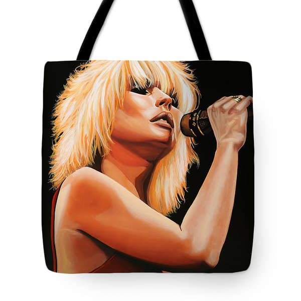 Deborah Harry Or Blondie 2 Tote Bag