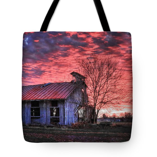 December At Bristol Park Tote Bag