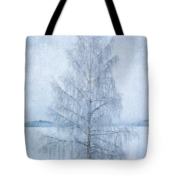 December Birch Tote Bag