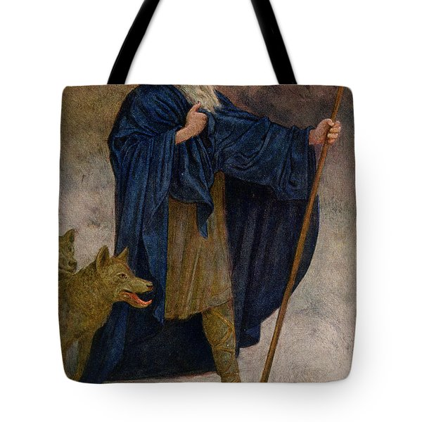 December Tote Bag by Hans Thoma