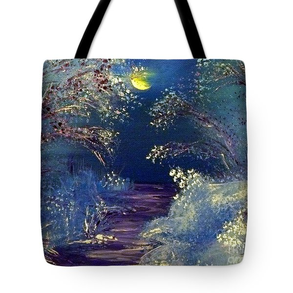 December Night Tote Bag by Alys Caviness-Gober