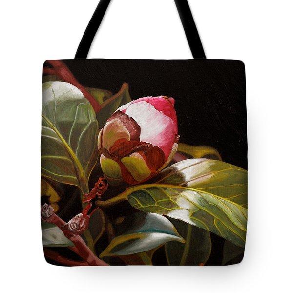 December Rose Tote Bag