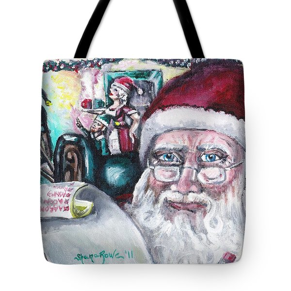 December Tote Bag by Shana Rowe Jackson