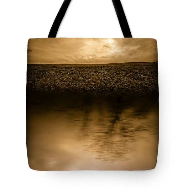 December Sky Tote Bag by Bob Orsillo