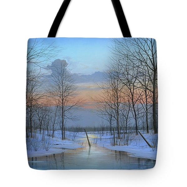 December Solitude Tote Bag