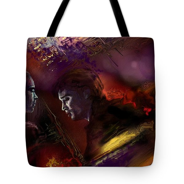 Dechirement  Tote Bag by Francoise Dugourd-Caput