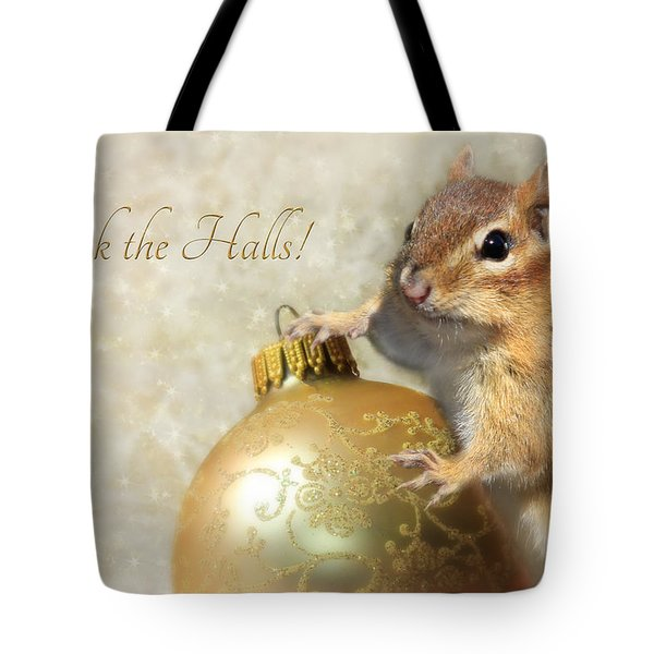Deck The Halls Tote Bag by Lori Deiter