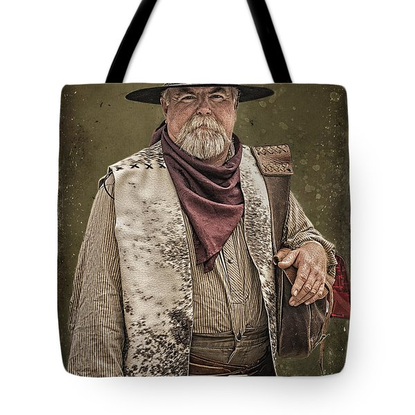Decked Out For Whiskey Row Shootout Tote Bag