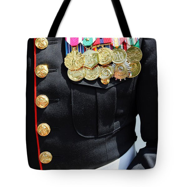 Decked Out In Courage Tote Bag