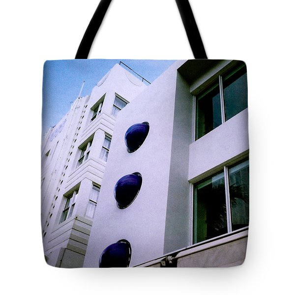 Deco Drive Polaroid Tote Bag