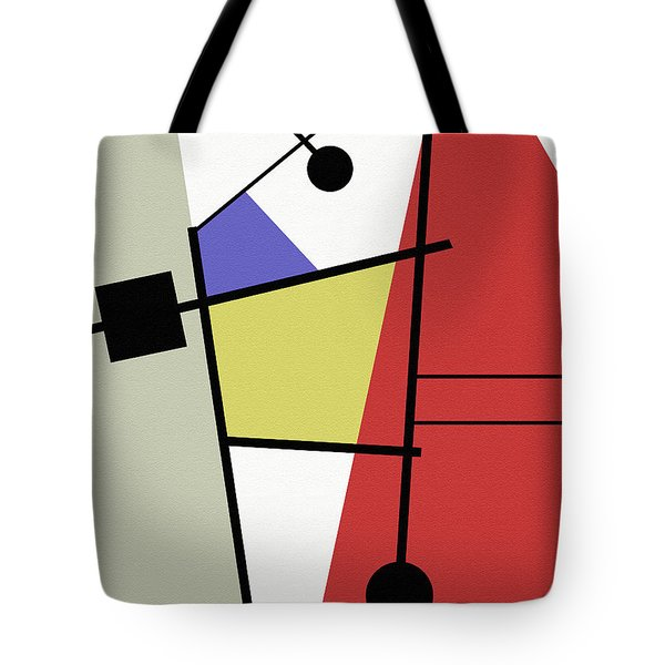 Deconstruction Tote Bag by Richard Rizzo