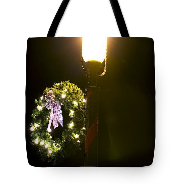 Decorating For Christmas Tote Bag by Kenneth Albin