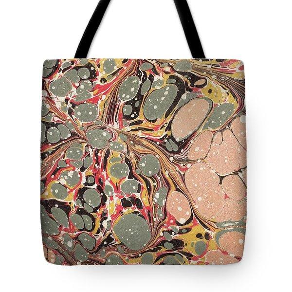 Decorative End Paper  Tote Bag
