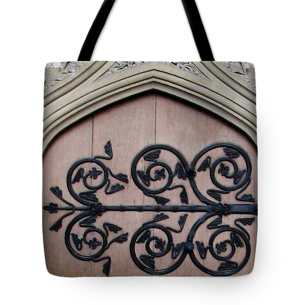 Decorative Hinge Tote Bag