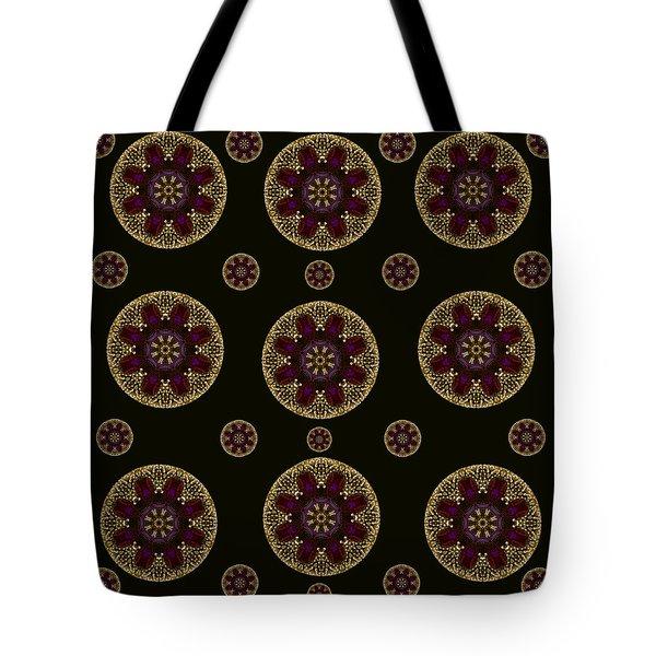 Decorative Pearls Pattern Tote Bag