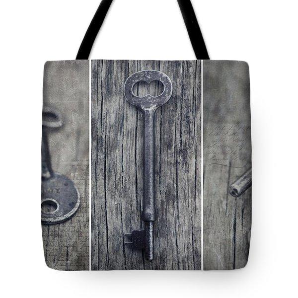 decorative vintage keys II Tote Bag by Priska Wettstein