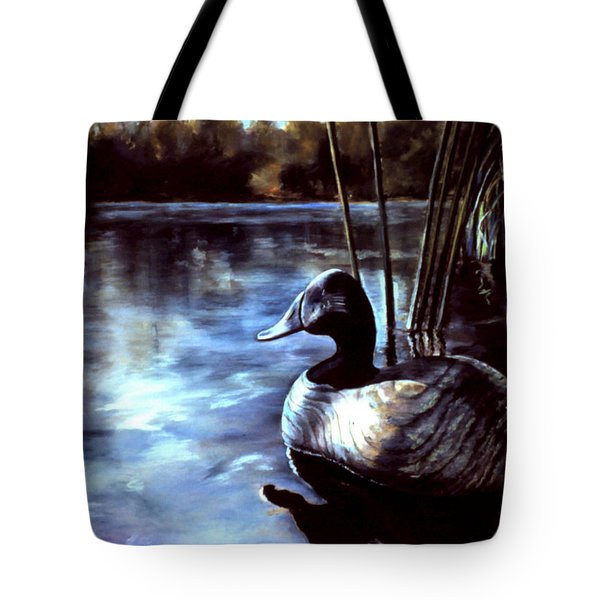 Decoy At Tealwood Tote Bag
