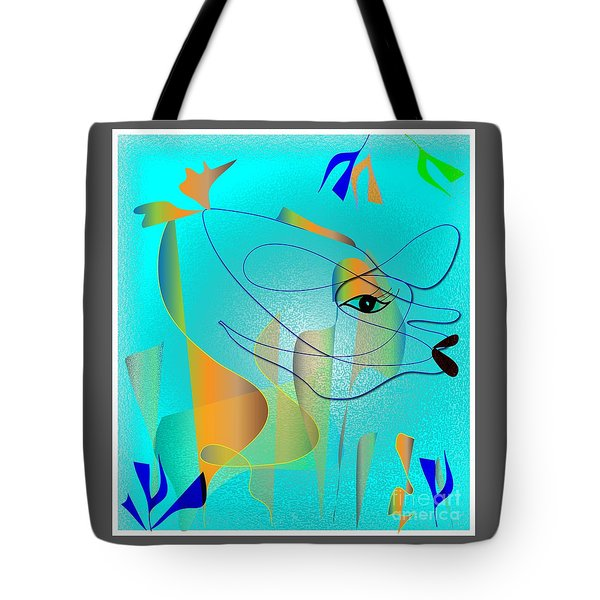 Deeep Below Tote Bag