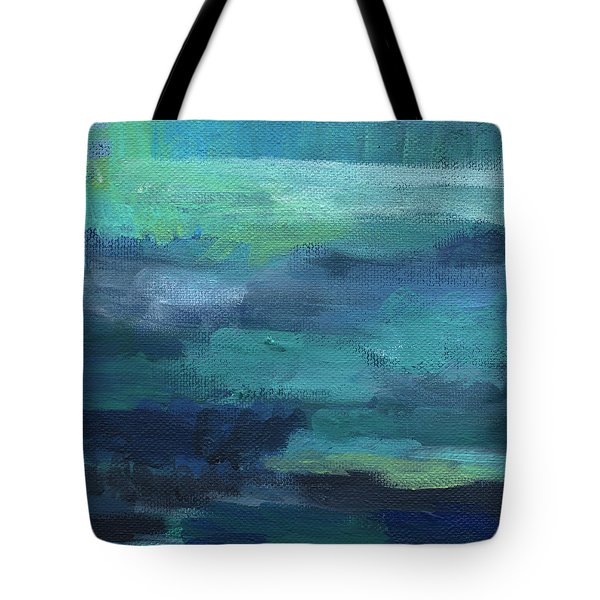 Tranquility- Abstract Painting Tote Bag