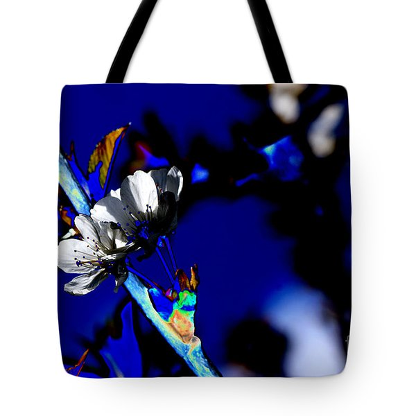 Deep Blue Tote Bag by Carol Lynch