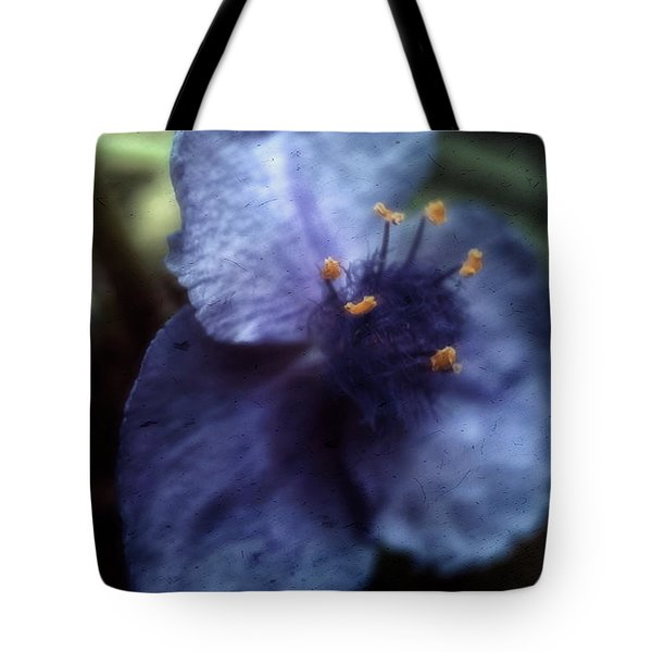 Deep Blue Tote Bag by Louise Kumpf