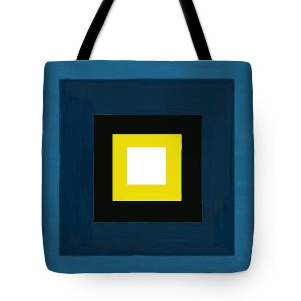Deep Blue Magic Tote Bag