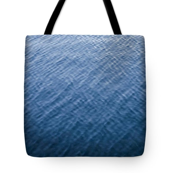 Deep Blue Water Tote Bag