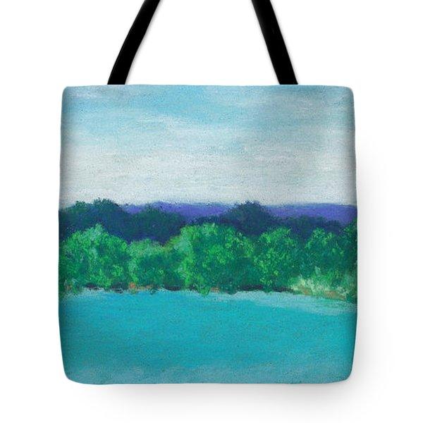 Deep Breath Tote Bag