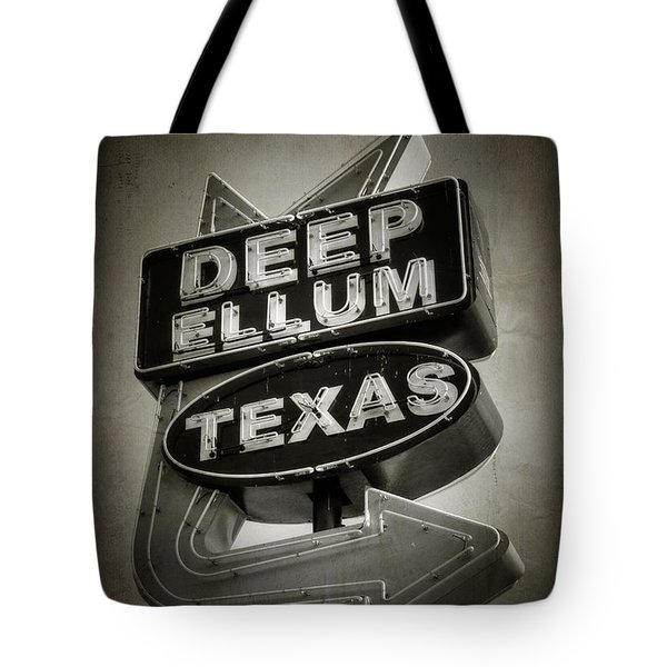 Deep Ellum Tote Bag by Joan Carroll