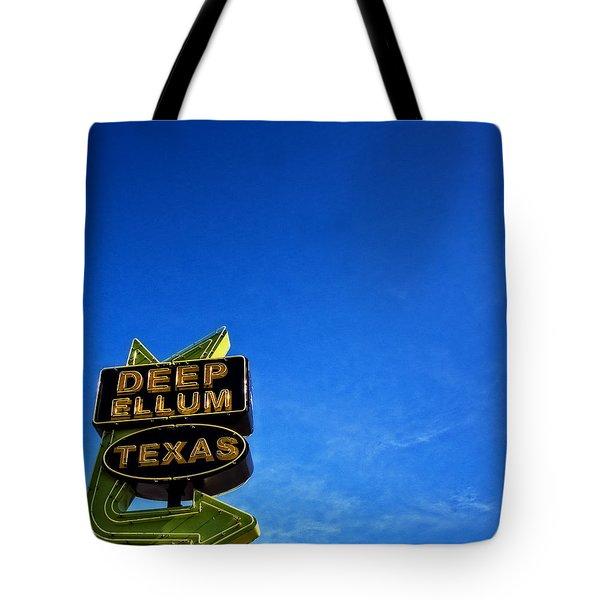 Deep Ellum Tote Bag by Mark Alder