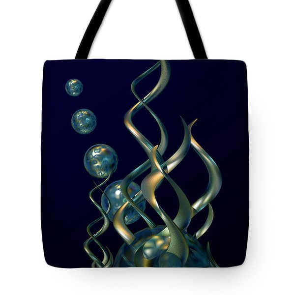 Deep In The Abyss Tote Bag