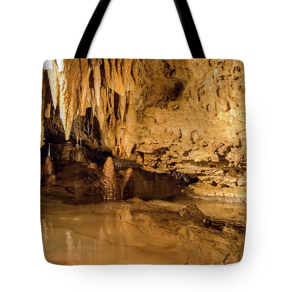 Deep In The Cave Tote Bag