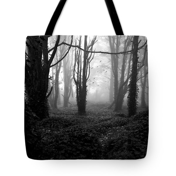 Deep In The Florest Tote Bag by Jorge Maia