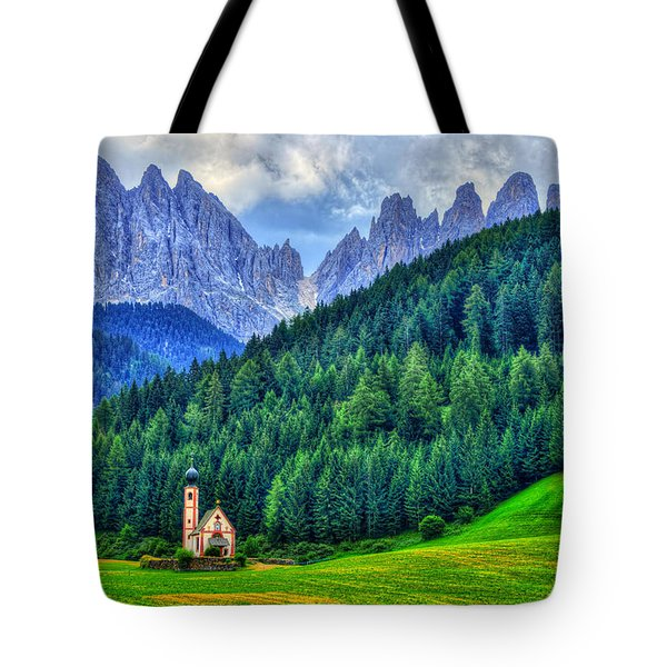 Deep In The Mountains Tote Bag by Midori Chan