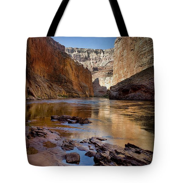 Deep Inside The Grand Canyon Tote Bag