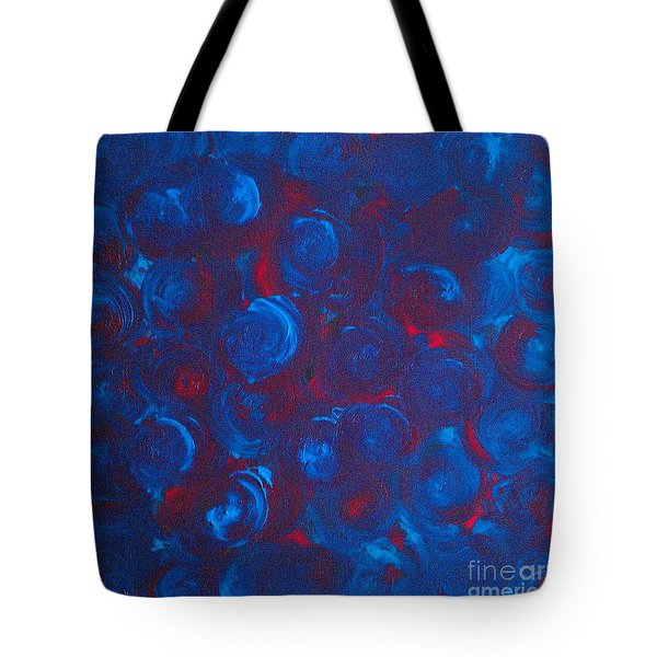 Tote Bag featuring the painting Deep by Jacqueline McReynolds