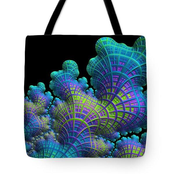 Deep Sea Coral Tote Bag