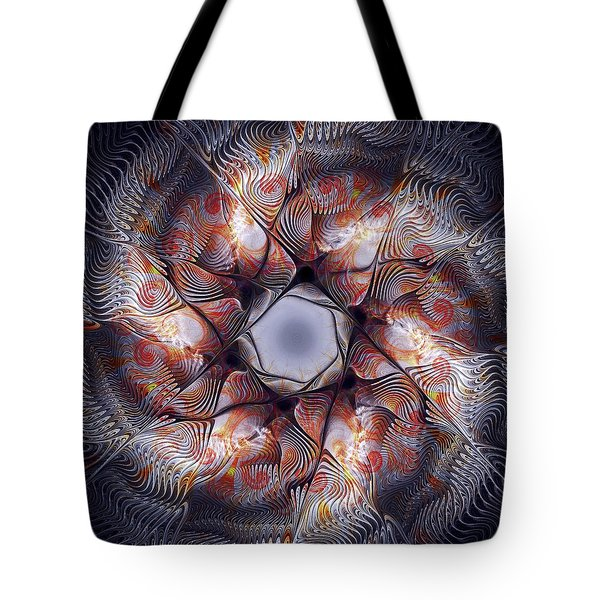 Deep Sea Creature Tote Bag by Anastasiya Malakhova