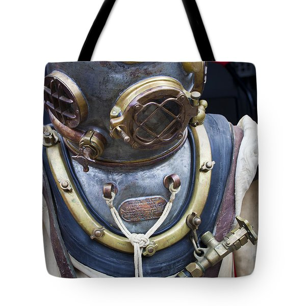 Deep Sea Diving Gear Tote Bag by Chris Dutton
