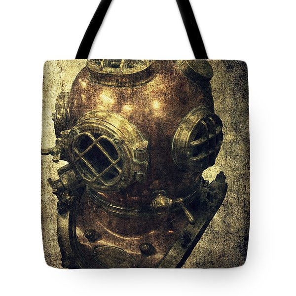 Deep Sea Diving Helmet Tote Bag