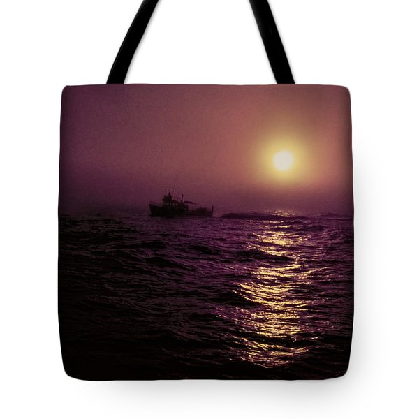 Deep Sea Fishing Off West Port Wa II Tote Bag
